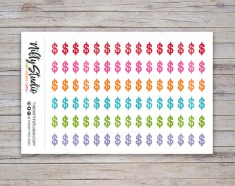 Payday Planner Stickers | Finance Stickers | The Nifty Studio [129]