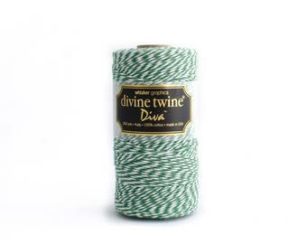 Green Bakers Twine // Green Divine Twine // 240 yards