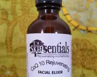 Co Q 10 Rejuvenating Facial Elixir - Organic