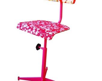 Chaise Japonaise // Vendue // Projet a refaire, chaise d'architecte relookée par SophieLDesign