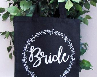 Custom Canvas Tote Bags | Bridal Tote Bags | Bridesmaid Gifts | Floral Tote Bags | Bridal Party Bags | Welcome Bags | Wedding Tote Bags