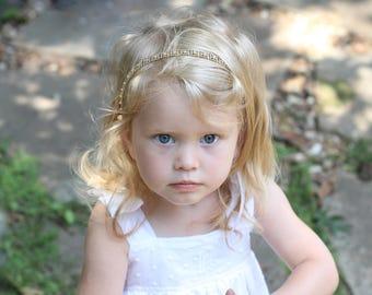 Flower Girl Headband Rhinestone Wedding Child Bridal Headband Child Headband Baby Girl Christening