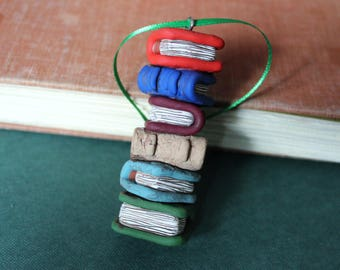 Book ornament  Etsy