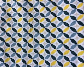 """""""Geometric"""" 100% cotton fabric"""