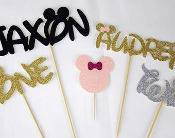 Disney Personalised Cake Toppers