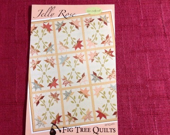 Jelly Rose quilt pattern by Fig Tree quilts