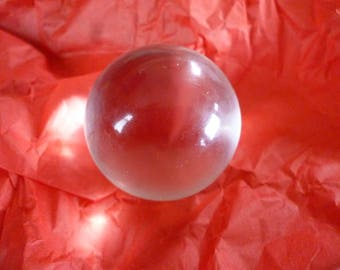 39mm crystal ball clear scrying  divination soothsayer fortune teller
