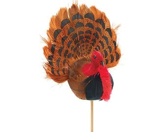 Turkey Pick/Wreath Supplies/Fall Decoration/Thanksgiving Decor/9725245