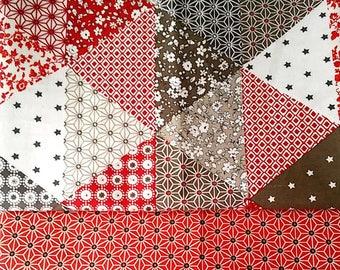 lot 2 Coupon fabric patchwork cotton Fat Quarters