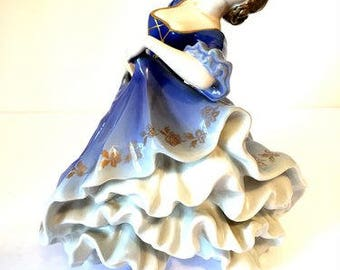 Vintage Rosenthal #207 Rococo Dancer Langenmantel Porcelain Figurine