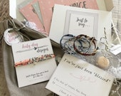 Blessing Box Liberty Print Bracelet, Just to Say..., 'A Hug in a Box', Box of Treats