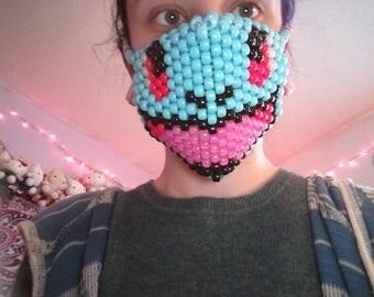 Squirtle kandi mask