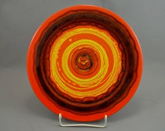 Vintage wall plate / Hutschenreuther / Reneé Neue | West Germany | WGP | 70s