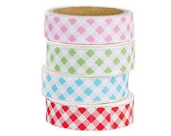 Washi Tape by Lori Holt for Riley Blake Designs- 4 Rolls each package