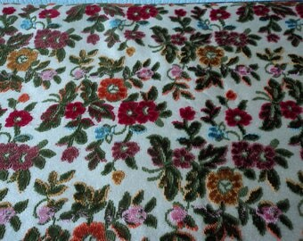 Stunning French vintage heavy woven brocade upholstery fabric 2.6 metres x 1.4 metres (05050)