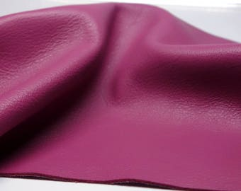 Genuine Leather Pieces Natural Full Grain Leather Berry 3-3.5oz.(1.2-1.4mm) 12 Inches Square Great for Leather Jewelry Making-Leather Scraps