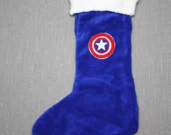 Captain America Christmas Stockings
