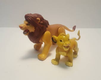 1993 Lion King Simba Action Figures