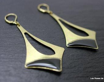 Earrings graphic earrings