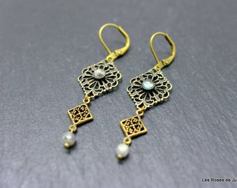 Earrings lace earrings