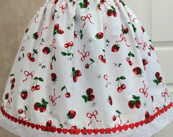 Strawberry Gateau Lolita Skirt