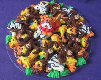 Jungle  Animals chocolates candy tray