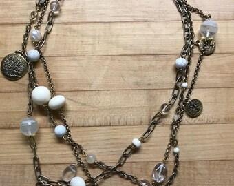 Ivory Hopscotch Necklace