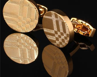BURBERRY Cufflinks in Gold Plated