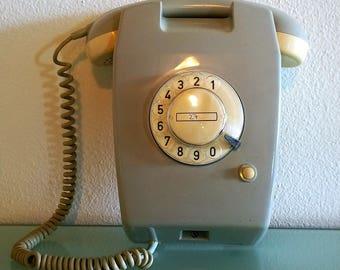 Wall Mount Telephone Etsy