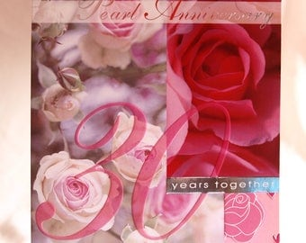 Special Wishes on your Pearl Anniversary Card