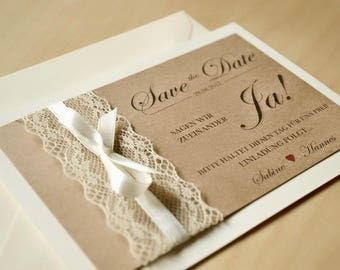 Save the date cards-vintage-to the wedding