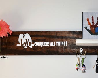 Key holder wall decor