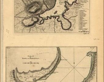 Poster, Many Sizes Available; Map Of Havana Cuba 1768