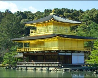 Poster, Many Sizes Available; Temple Of The Golden Pavilion), P2