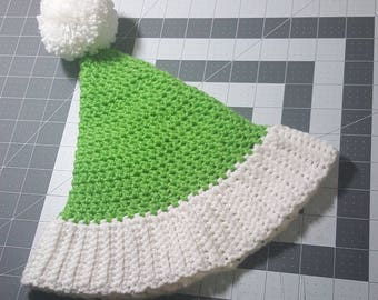 Elf hat for a newborn to 3 months old