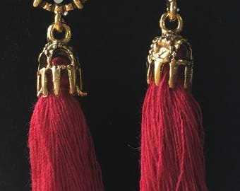 Tassel Earrings, Valentine's Day Earrings, Valentine's Day Gifts, Valentine's, Elegant Earrings, Galentine's Day, Treat Yo' Self