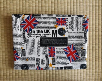UK Fabric for 1/2 yard black