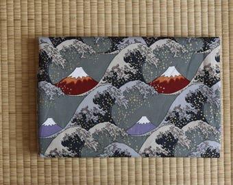 Japan kimono sakura yukata fuji Fabric  1/2 yard