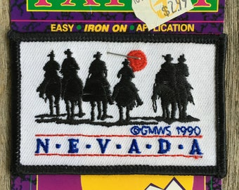 Nevada Vintage Souvenir Travel Patch from GMWS - LAST ONE!