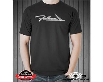 Ford Falcon Custom Screen Printed Hot Rod Muscle Classic Car T-Shirt