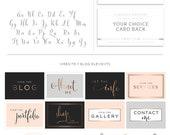 Logo Branding Kit, Mini branding kit, Logo design, Premade logo, Watermark logo, Photography Logo, Logo, Branding Package, Bronze Logo 117
