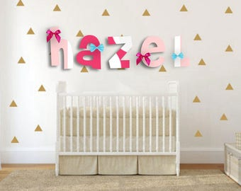 Baby Room Decor, Nursery Letters, Monogram Letters, Baby Nursery Decor, Custom Wood Letters, Nursery Decoration, Baby Decor, Custom Letter