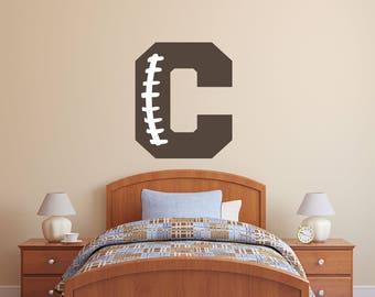 Football wall decals | Etsy