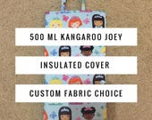 500 ml Cold Insulated Kangaroo Joey Pump Bag Cover-Insulated Bag-Gravity Feed-Tubie-