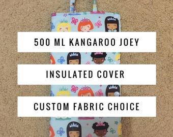 500 ml Cold Insulated Kangaroo Joey Pump Bag Cover-Insulated Bag-Gravity Feed-Tubie-