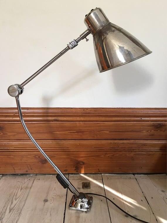 French machinist work lamp circa 1940's