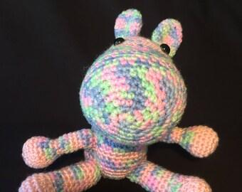 Amigurumi rainbow Zebra baby child stuffed toy teddy
