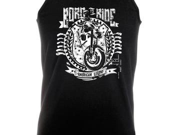 Born To Ride - Mens Tank Vest