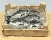 Box of fresh fish 1:12 sc...