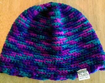 Women's Crocheted Winter Wool Blend Beanie